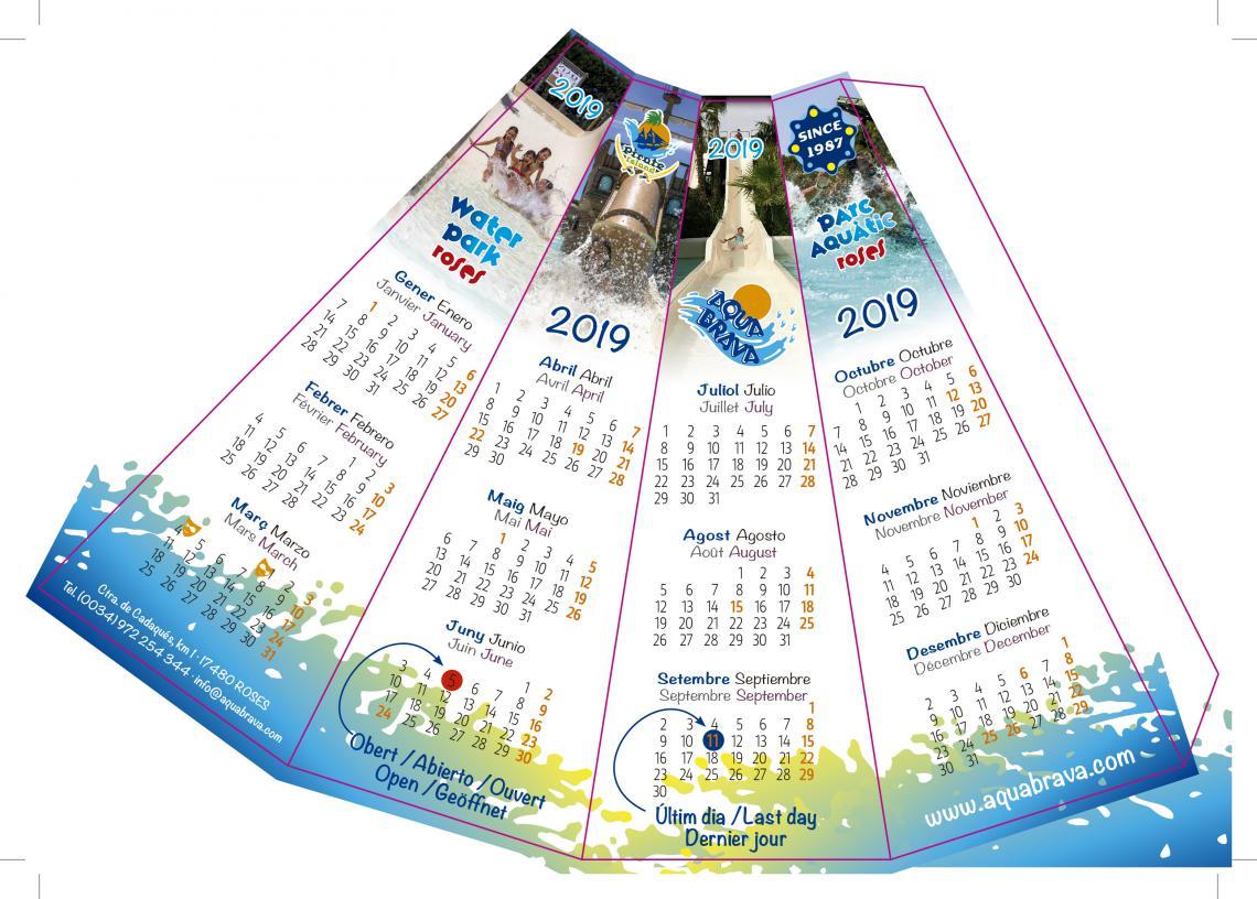 bikini promo kalender drucken